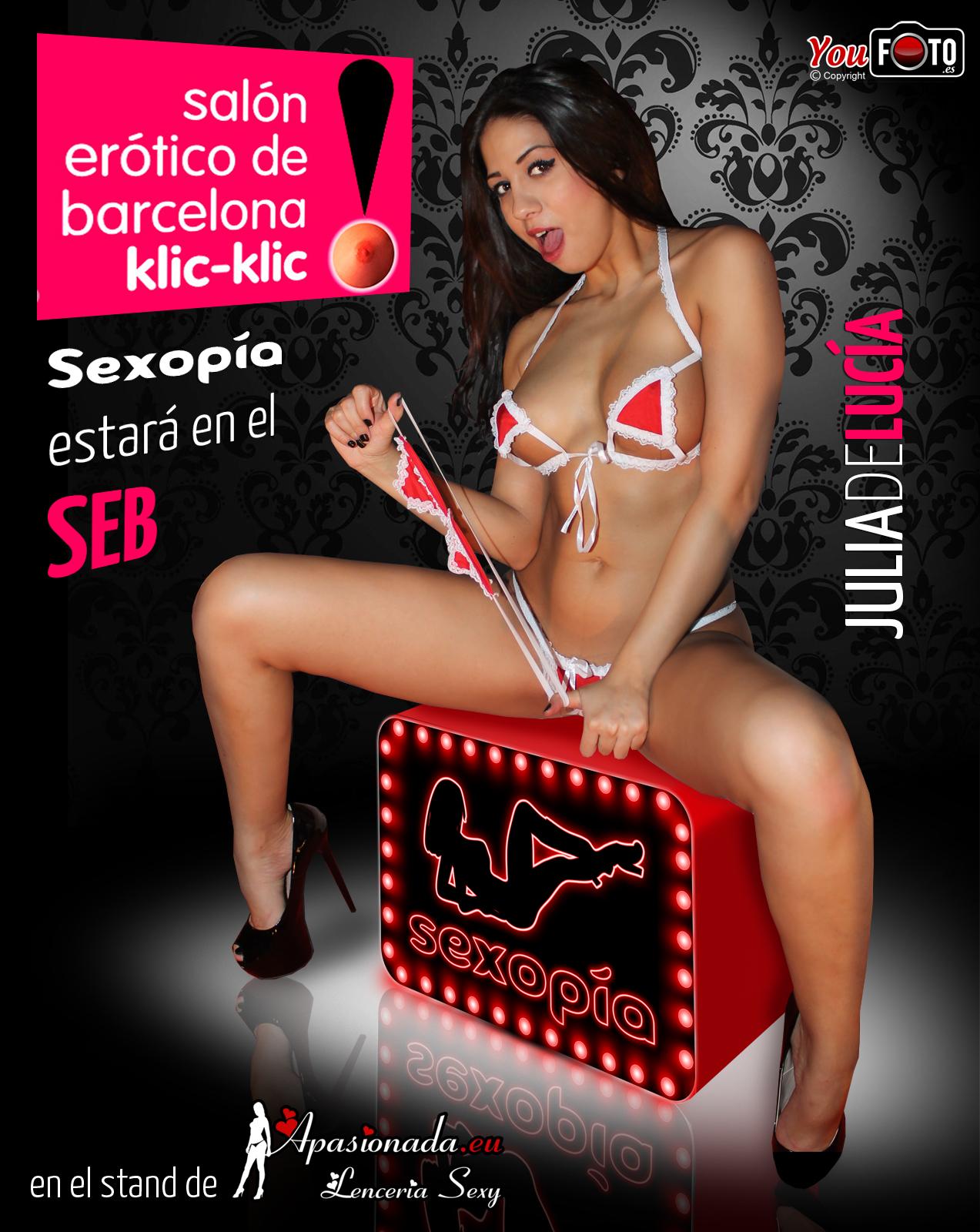 Sexopía estará en el Salón Erótico de Barcelona 2014