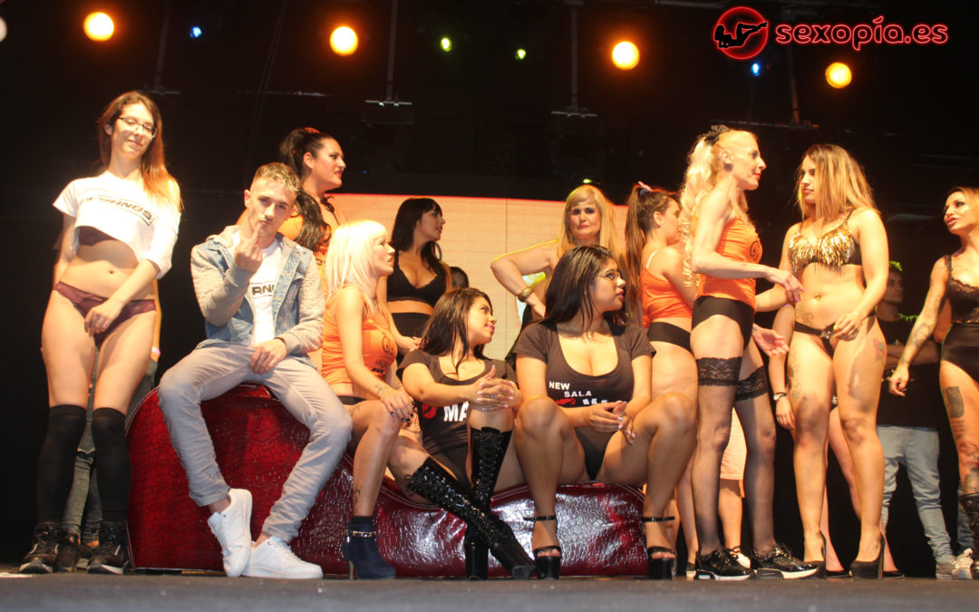 Sexopía en el Valencia Erotic Party 2017 (primera parte)